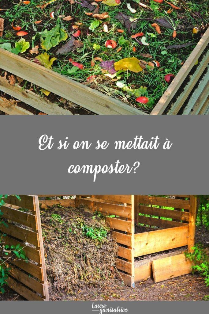 Et si on se mettait à composter ? Toutes les meilleures astuces pour commencer un compost et le faire maturer sans trop se fatiguer.  #legumes #potager #association #légumes #jardinage #jardin #potager #jardinbio #potagerbio #jardinpotager #tomate