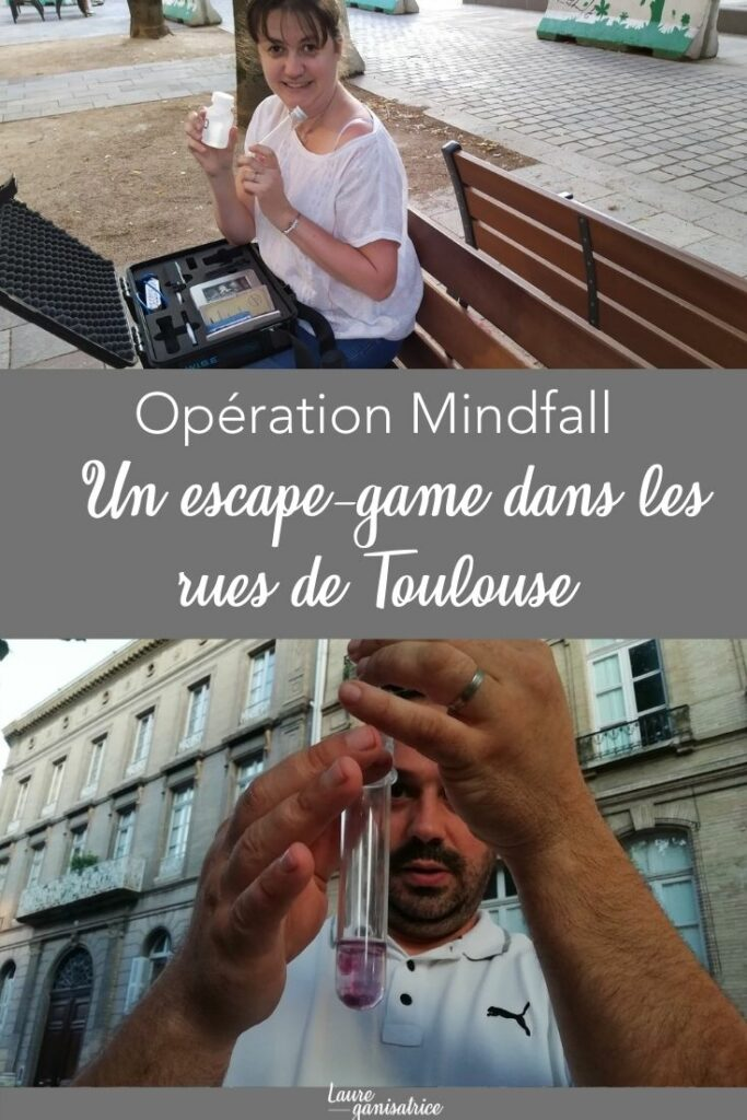 Opération Mindfall - Un mélanage d'escape game et de geocaching dans les rues de Toulouse