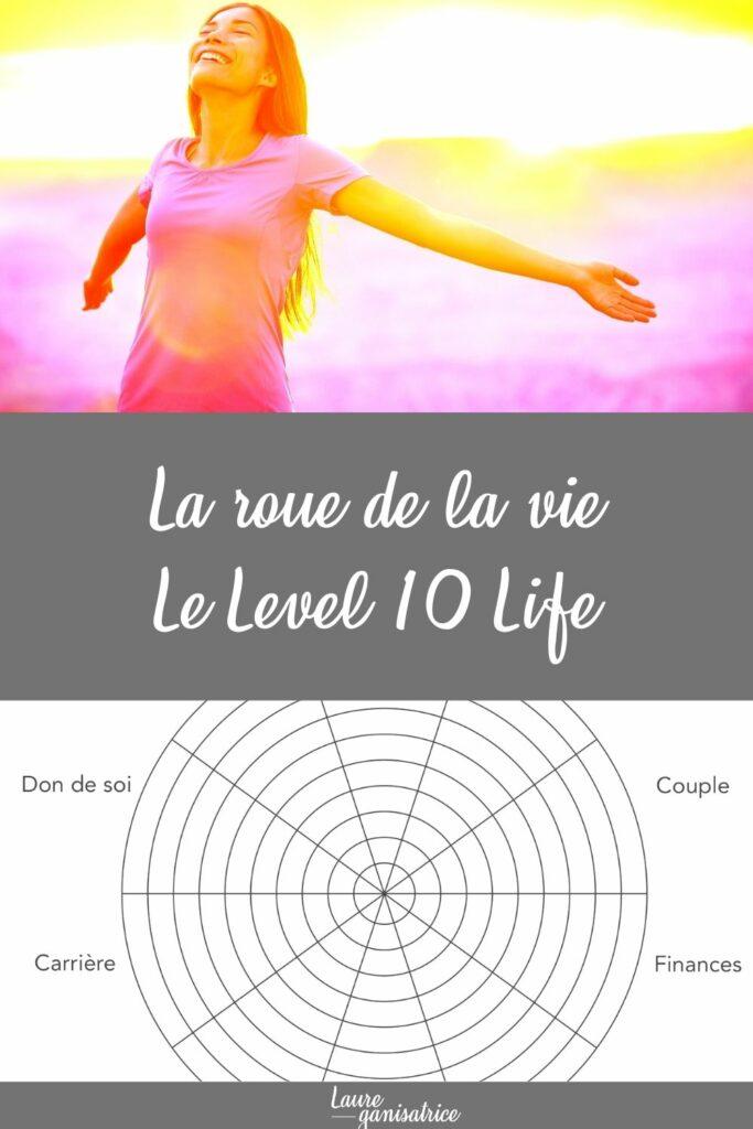 La roue de la vie, un moyen tout simple d'évaluer 10 domaines de sa vie