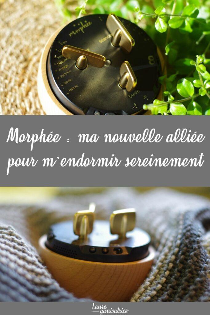 Morphée est une box déconnectée qui vous propose 7 techniques différentes : balayage corporel du corps, respiration, mouvements, visualisation, méditation rythmée, siestes et sons de la nature.