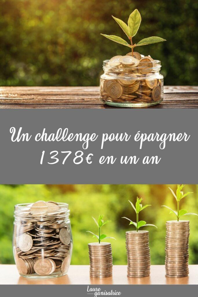 Épargne challenge # 1378 #challenge #epargne #épargne #économies #economies #budget #défi #defi #52semaines