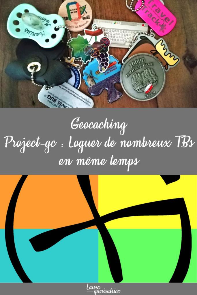 Geocaching : loguer de nombreux TBs en même temps