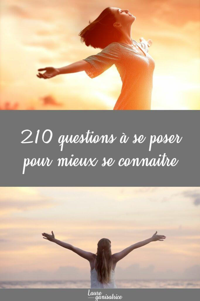 210 Questions pour découvrir ce qui nous rend heureuse et mieux nous connaitre