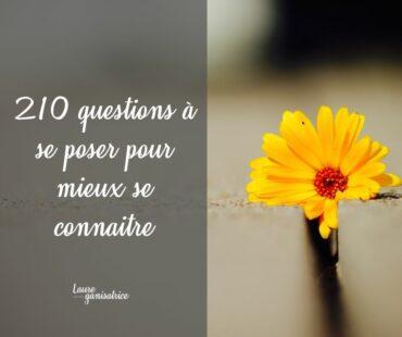 210 Questions pour découvrir ce qui nous rend heureuse