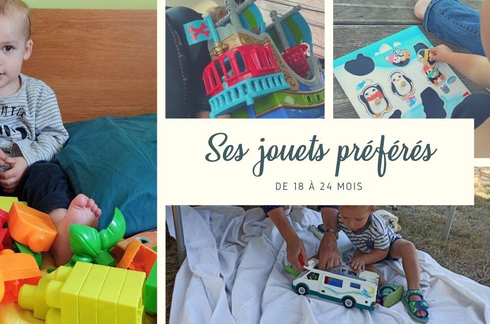 Ses jouets et activités préférés de 18 à 24 mois