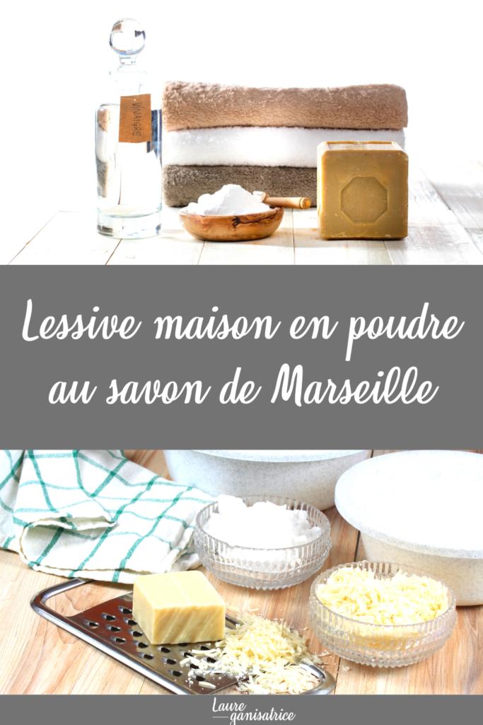 Ma lessive en poudre au savon de Marseille #lessive #écologique #économique #saine #homemade #savon #marseille